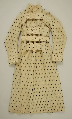 Cotton Dressing gown; early 19th century; British [Met Museum]