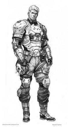 Fusilier by AlexPascenko.deviantart.com on @deviantART