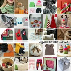 30 Upcycled Sweater Tutorials