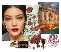 """Touring Italy In Dolce & Gabbana: Rome"" by katiethomas-2 ❤ liked on Polyvore"