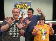 Dean Cain! At the 39th annual Superman Celebration in Metropolis, Illinois. 6/10/2017.