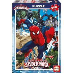 ULTIMATE SPIDERMAN Puzzle Spiderman 500 piezas. Dimensiones 48 x 34 cm.