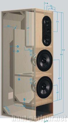 12 Speaker Box Plans - 12 12 Speaker Box Plans , Categories Box Designs with Subwoofers Box Designs Spl Box Diy Subwoofer, Subwoofer Box Design, Speaker Box Design, Audiophile Speakers, Audio Speakers, Hifi Audio, Speaker Plans, Sub Box, Audio Design