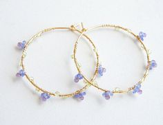 Tanzanite Amethyst Hoops Don& Forget Me Jewelry Blue Purple Earrings Ges - . - Tanzanite Amethyst Hoops Don& Forget Me Jewelry Blue Purple Earrings Ges – jewelry – - Diy Jewelry Rings, Ear Jewelry, Cute Jewelry, Jewelry Art, Jewelry Accessories, Fashion Accessories, Fashion Jewelry, Jewlery, Purple Accessories