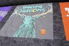 Radioactive!  Imagine Dragons concert shirt.