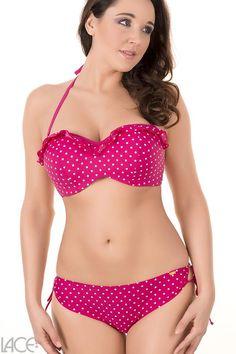 Cleo Swim - Betty (P) Bikini Bandeau BH (D-G Cup)