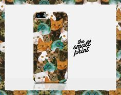 Funny meme CATS & Kittens Collage design Apple iPhone 6 cell phone case. For any cat lover or animal fanatic. What a great birthday present it