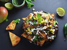 Loaded Naan Nachos With Ground Lamb and Crispy Chickpeas