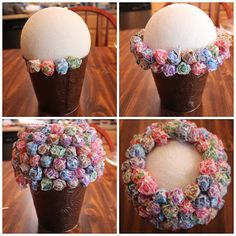 """Lollipop """"plant"""" centerpiece So adorable Pinspired: Candy Topiaries ~ Dana Renee {Style}"""