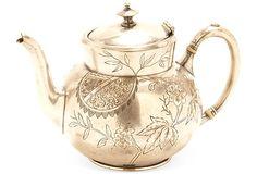 Victorian Teapot on OneKingsLane.com