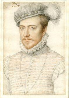 """aleyma: """" School of Francois Clouet, Jacques de Savoie, Duc de Nemours, 1560-68 (source). """""""