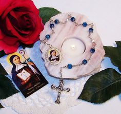 Unbreakable Chaplet of St. Odilia of Alsace  by foodforthesoul
