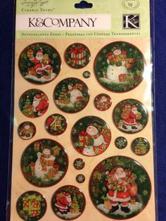 K & Company Clearly Yours  SW Glad Tidings by CynthiasCraftingNook, $3.50