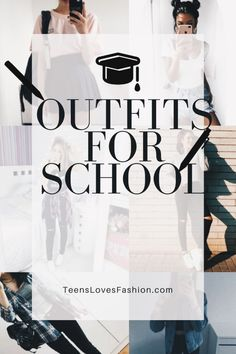 Outfits para el regreso a clases. – TEENS LOVES FASHION