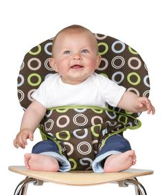Take a look at this Trendykid Chocolate Circles Totseat by Mealtime Musts Collection on @zulily today!