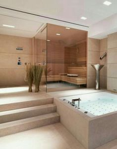 32 modern bathrooms that stand for luxury - Bathroom Decoration Luxury . - 32 modern bathrooms that stand for luxury – Bathroom Decoration Luxury # - House Design, Luxury Bathroom, House Interior, Home, Modern Bathroom, Home Spa, House, Dream Bathrooms, Luxury Homes