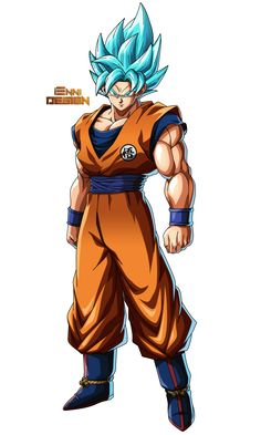 Goku (SSGSS) by iEnniDESIGN