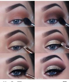 If you want to transform your eyes and increase your appearance, finding the very best eye make-up recommendations can help. You want to make sure you put on make-up that makes you look even more beautiful than you already are. Wedding Makeup Tips, Natural Wedding Makeup, Eye Makeup Tips, Makeup Goals, Love Makeup, Skin Makeup, Makeup Inspo, Eyeshadow Makeup, Natural Makeup