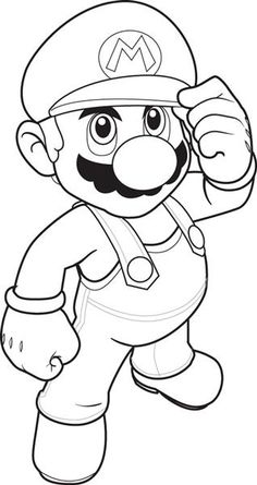 Charmant Super Mario Coloring Pages For Kids: This Article Brings You A Number Of  Super Mario Coloring Sheets, Depicting Them In Both Humorous And Realistic  Ways.