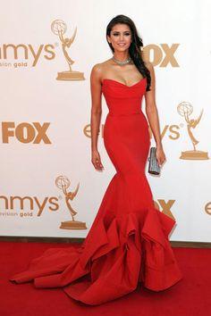 Nina Dobrev Grammy Dress