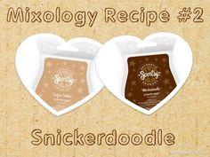 """""""Snickerdoodle"""" Scentsy scent Bar recipe. Shop: www.daniellecoziahr.scentsy.us"""