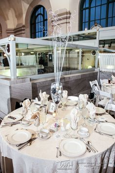 TWA Weddings at the Grand Ballroom at Joliet Union Station | Click the picture to enter our Wedding Giveaway!