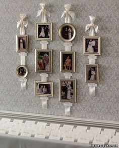 The coolest idea for a seating plan!
