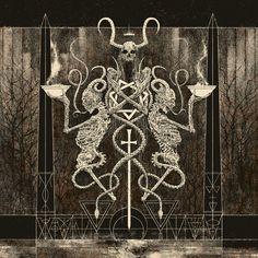 Illustration for Altar Of Plagues / Year Of No Light split LP (2012)