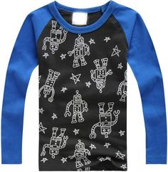 2014 Retail Kids Tops Cartoon Long Sleeves T shirt Children Boys Girls t shirt /Child Tops Tee/Children's T Shirts FreeShipping-inT-Shirts from Mother & Kids on Aliexpress.com | Alibaba Group