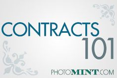 AMAZING TIPS! Contract tips for photographers. Here is some good information for what should be included in a contract. The information provided, serves as an outline of some of the key information that you should include in your photographer contract. Photography Contract, Photography Tools, Photography Marketing, Photography Lessons, Photoshop Photography, Photography Business, Photography Tutorials, Digital Photography, Amazing Photography