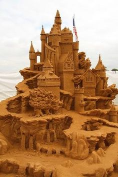 sand sculpture by Eva0707