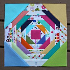 A Quilter's Table - pineapple block