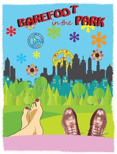 Barefoot in the Park - Ann Arbor Civic Theatre Theatre Posters, Movie Posters, Barefoot In The Park, Civic Theatre, Robert Redford, Ann Arbor, Cinema, Concept, Movies