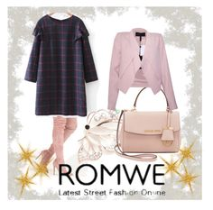 """Romwe"" by samravelagic ❤ liked on Polyvore featuring Kim Rogers, Michael Kors and BCBGMAXAZRIA"