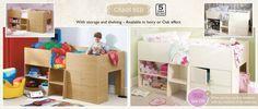 kids bed - storage under bed
