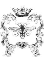 Bee Home Decor Iron On Transfer