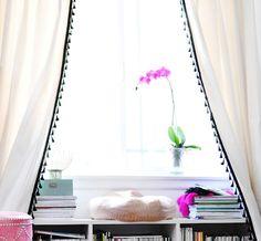 15 IKEA Hacks to Dress Up Your Windows via Brit + Co.