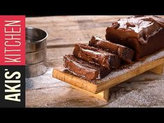A quick and easy cake by Greek chef Akis Petretzikis. A rich and delicious cake with cream cheese and chocolate hazelnut spread! Greek Sweets, Greek Desserts, Greek Recipes, Cookbook Recipes, Kitchen Recipes, Dessert Recipes, Cooking Recipes, Cooking 101, Greek Cake