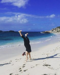 Didn't think I could still do this  #rottnestisland #fun #sun #beach #cartwheel #whiteasfuck #islandlife by charleyish http://ift.tt/1L5GqLp