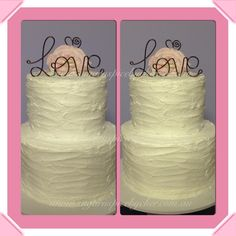 Rustic, engagement cake, Love topper, rose