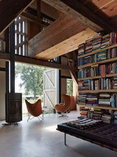 seating among books