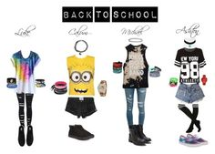 """""""Back To School (5SOS Edition)"""" by deyoakley on Polyvore"""