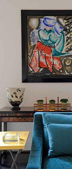 Appartements | Laurent Bourgois et Caroline Sarkozy Laurent, Paris, Interior, Window, Painting, Design, Apartments, Montmartre Paris, Indoor
