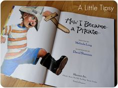 DIY Under $5 {How I Became a Pirate} - A Little Tipsy