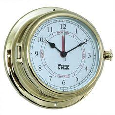 Ships Wheel Tide Clock Atlantic Coast Tidal Clock