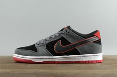 huge discount f1768 4aea4 Officiel Nike SB Zoom Dunk Low Pro IW Skateboarding Sneakers 895969-006  Dark Grey Black Noir Youth Big Boys Shoes