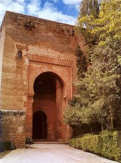 Puerta de la Justicia. Built in 1348 by Sultan Yusuf I, the Gate of Justice is the largest of the Alhambra's four outer gates