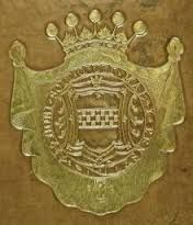 Image result for armorial book bindings
