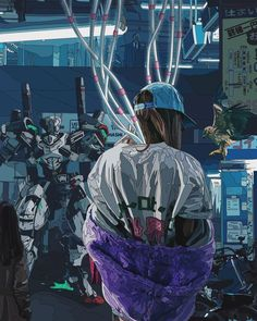 #cyberpunk #art #graphic #future Mad Dog Jones