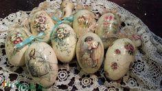 Gyönyörű formájú liba tojások díszítve (vmorsy) - Meska.hu